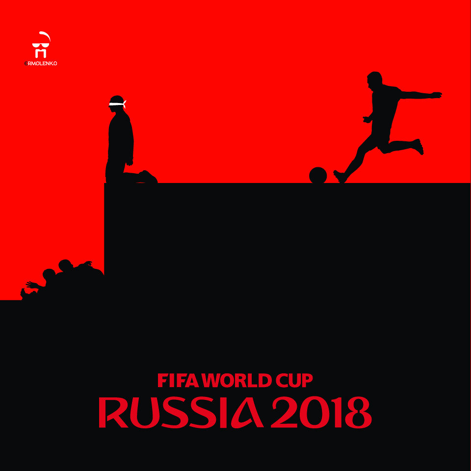Alternative posters for FIFA World Cup 2018 in Russia